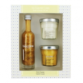 Coffret Trio CORPS Or & Caviar