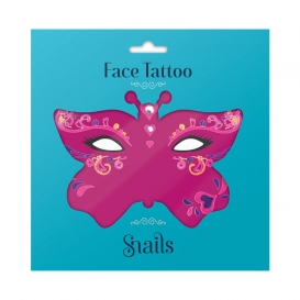 Masque Tattoo Enfant Queen of Heart