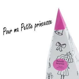 Cornet Surprise Enfant Rose