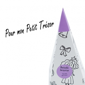 Cornet Surprise Enfant Violet