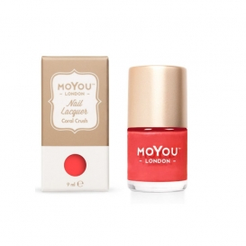 Vernis Nail Art Moyou Coral Crush