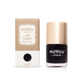 Vernis Nail Art Moyou Black Knight