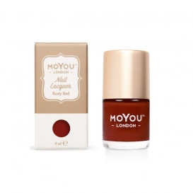 Vernis Nail Art Moyou Rusty Red