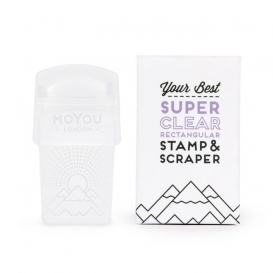 Tampon Stamping  Moyou Super Clear 3 en 1