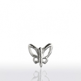 Piercing Papillon Or Blanc